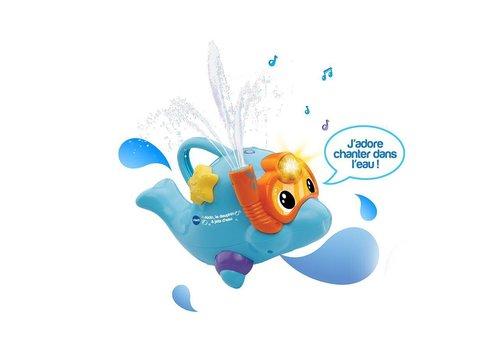 Aldo le dauphin a jets d'eau