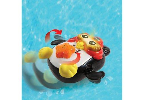 Gédéon. champion de natation