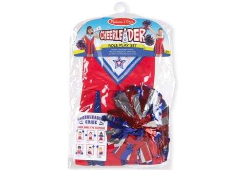 Melissa & Doug Cheerleader role play set 3-6 yrs