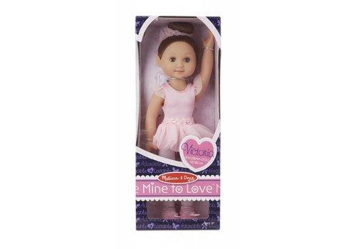 """Melissa & Doug Victoria - 14 """" Ballerina Doll"""
