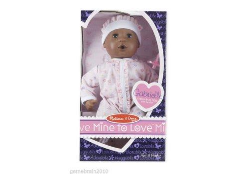 "Melissa & Doug Mine to Love Gabrielle - 12"" Doll"