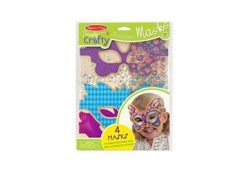 Melissa & Doug Bricos tout beaux masques merveilleux - Simply Crafty - Marvelous Masks