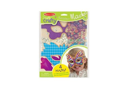 Melissa & Doug Simply Crafty - Marvelous Masks