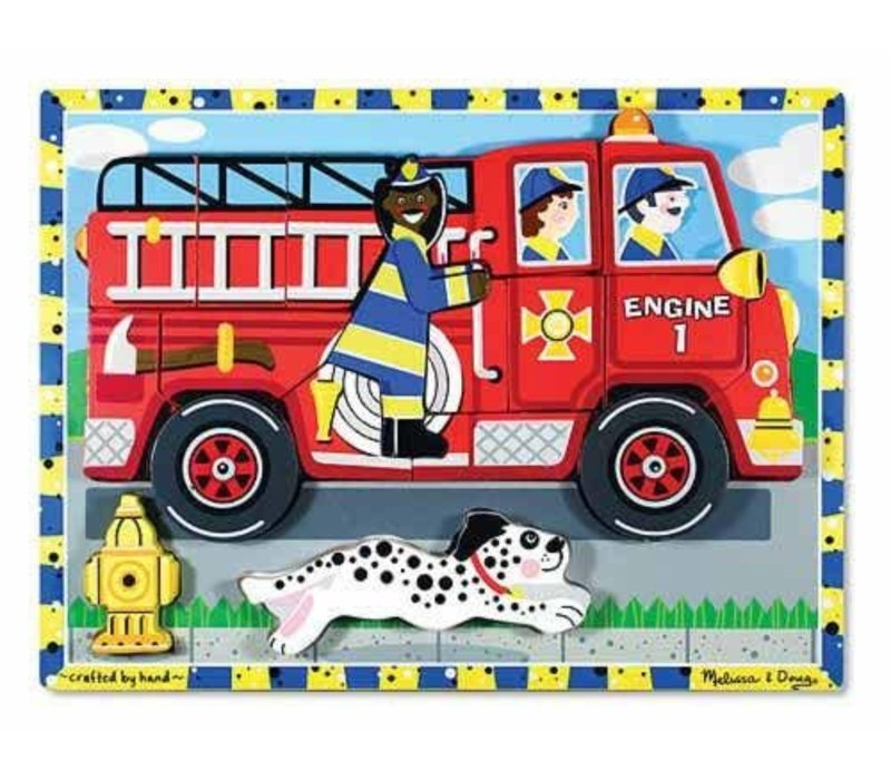 Fire Truck Chunky Puzzle