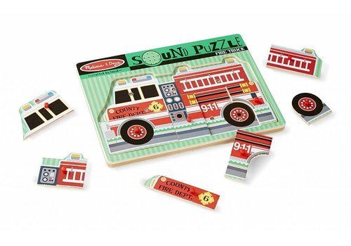 Melissa & Doug Fire Engine Sound Puzzle