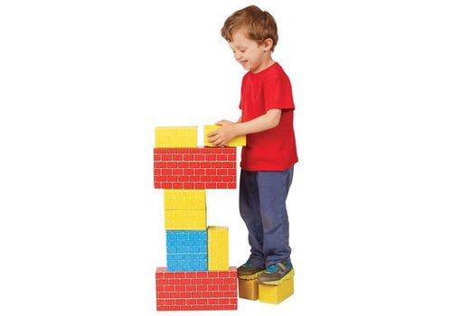 Melissa & Doug Jumbo Cardboard Blocks 24 pcs