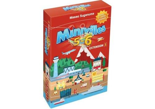 Moonster Games Asia Minivilles Extensions5-6- joueurs