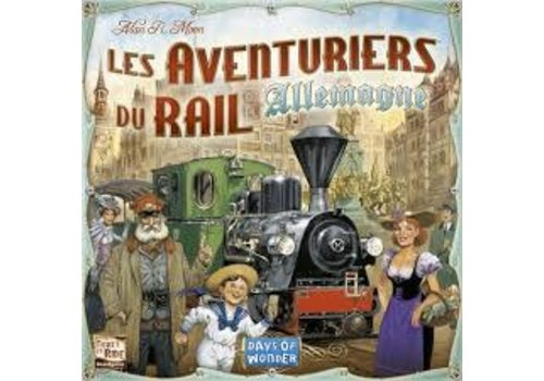 Days of Wonder Les aventuriers du rail - Allemagne
