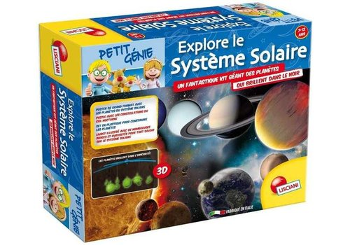 Lisciani (Giochi) Copy of P.Genie-Construis le systeme solaire