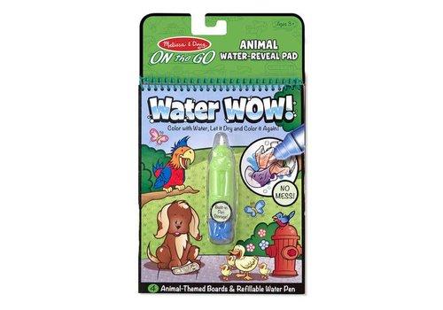 Melissa & Doug Révélation à l'eau animaux - Water wow ! Animals