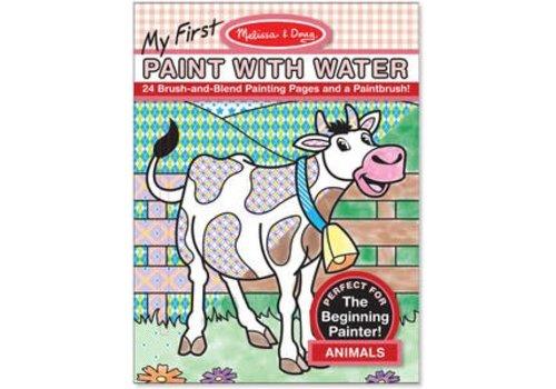 Melissa & Doug Ma première peinture avec de l'eau! Animaux