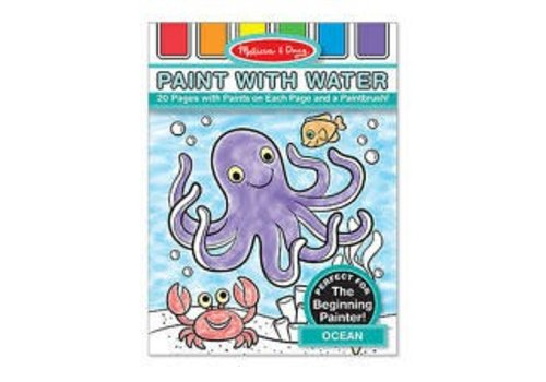 Melissa & Doug Paint with water Ocean