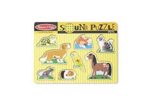 Melissa & Doug Puzzle sonore des animaux
