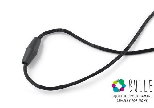 Bulle Bijouterie Corde de remplacement et fermoir pour pendentif