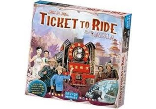 Days of Wonder Les aventuriers du Rail - Asie