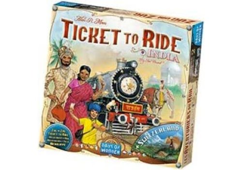 Days of Wonder Les aventuriers du Rail - Inde