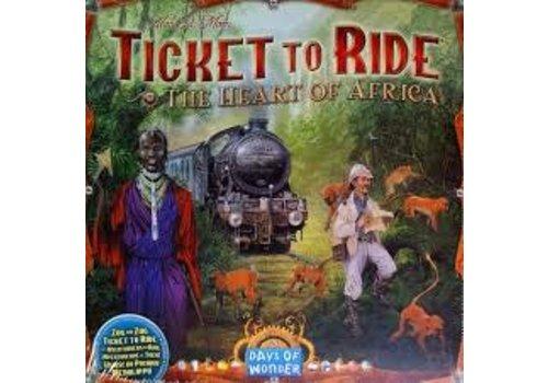 Days of Wonder Les aventuriers du Rail - Afrique
