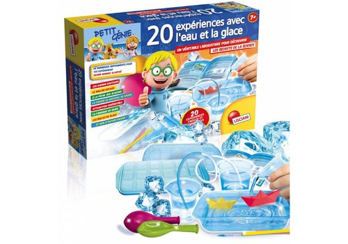 Petit genie - 20 experiences glace et eau