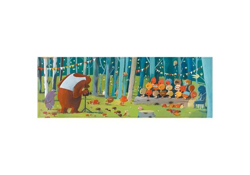 Djeco Puzzle Gallery Forest Friends / 100 pcs