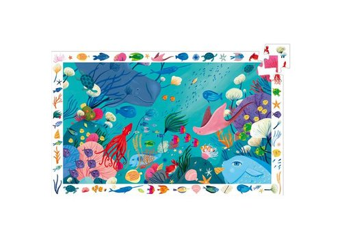 Djeco Puzzle observation Aquatique / 54 pcs