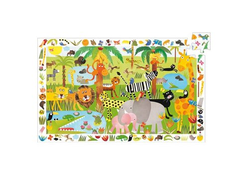 Djeco Puzzle observation Jungle / 35 pcs