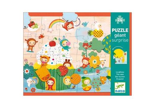 Djeco Puzzle surprise Le gateau