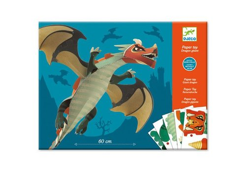 Djeco Paper Toys / Dragon géant