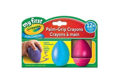 My first Crayons de cire faciles à tenir