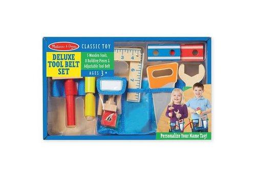 Melissa & Doug Jeu de ceinture à outils de luxe - Deluxe Tool Belt Set