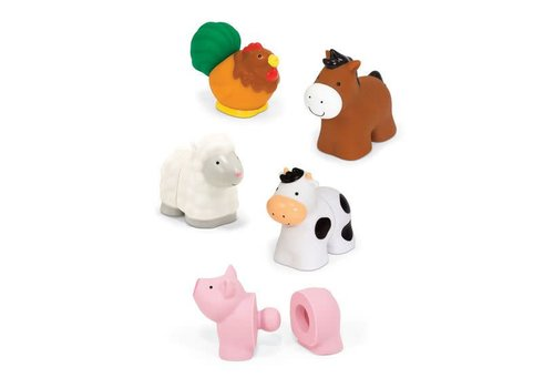 Melissa & Doug Animaux de la ferme - Pop Blocs Farm Animals