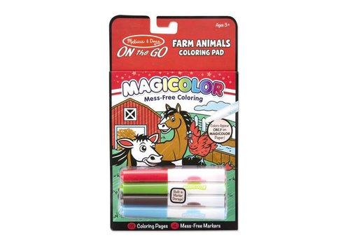Melissa & Doug Coloriage sans dégât ferme - Magicolor Farm Animals