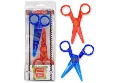 Melissa & Doug Ciseaux de sécurité pour enfants - Child-Safe Scissor Set