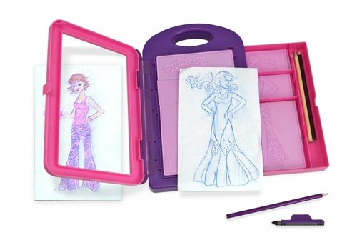 Melissa & Doug Collection mode ensemble d'activités - Fashion Design Activity Kit
