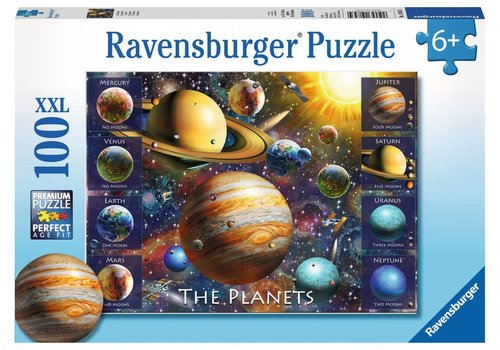 Ravensburger Casse-tête 100 morceaux - Les planètes