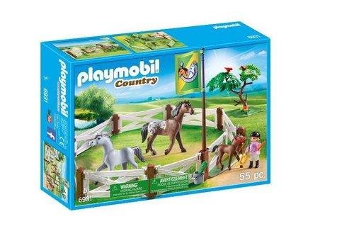 Playmobil Enclos avec chevaux