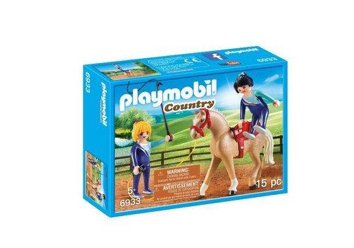 Playmobil Voltigeuses et cheval