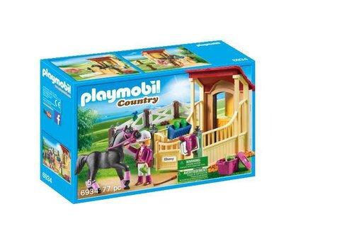 Playmobil Box avec cavalière et pur-sang Arabe