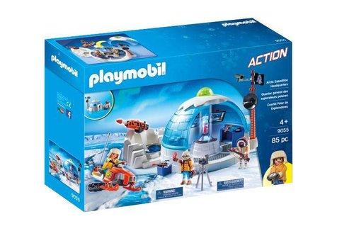 Playmobil Quartier général des explorateurs polaires*