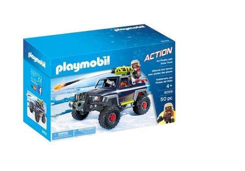 Playmobil Véhicule tout terrain avec pirates des glaces*