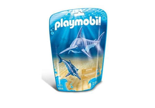 Playmobil Espadon et son petit