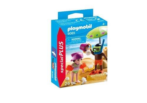 Playmobil Enfants et châteaux de sable