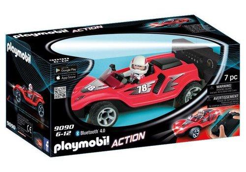 Playmobil Voiture de course rouge radiocommandée
