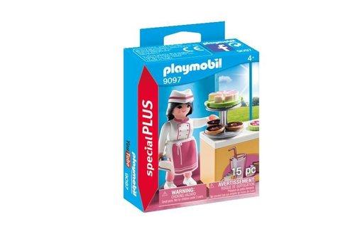 Playmobil Pâtissière avec gâteaux