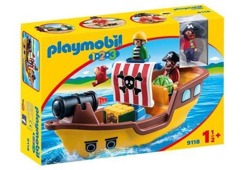 Melissa & Doug Playmobil 123 - bateau de pirates