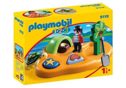 Playmobil Ile de pirate