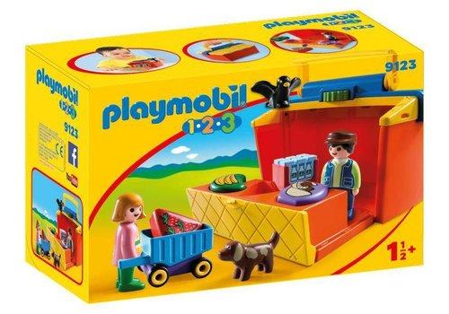 Playmobil Marché transportable