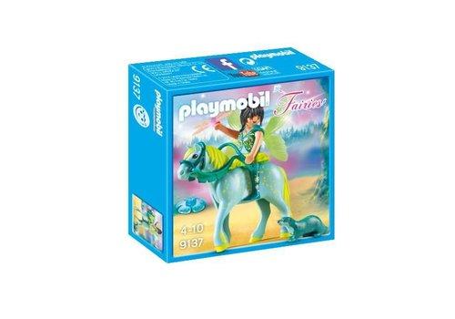 Playmobil Fée avec cheval