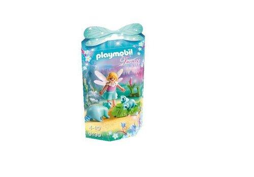 Playmobil Fée avec ratons laveurs