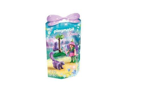 Playmobil Fée avec hibou et putois*