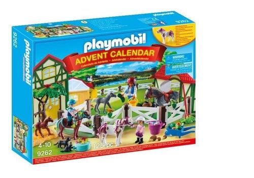 """Playmobil Calendrier de l'Avent """"Centre équestre"""""""